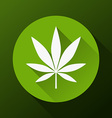 Cannabis leaf vector image