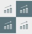 money icon simple vector image