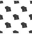 Business cards icon in black style isolated on vector image