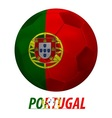 portugal vector image vector image