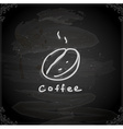 Hand Drawn Coffee Sign vector image