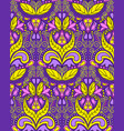seamless vintage colorful pattern vector image
