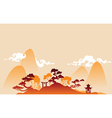 China landscape vector image