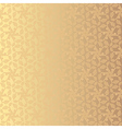 Golden floral background Eps 8 vector image