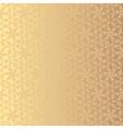 Golden floral background Eps 8 vector image
