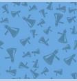 megaphone seamless pattern vector image