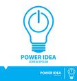 Power idea symbol icon vector image