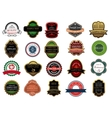 Retail banners badges and labels set vector image