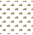 Jeep pattern cartoon style vector image