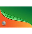 golf banner vector image