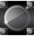 Abstract glass background vector image