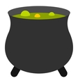 Boiler sorcerer icon flat style vector image