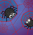 Spider funny vector image