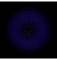 Explosion Dark blue vector image