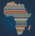 ethnic african elements vector image