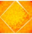 Orange mosaic tiles vector image