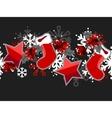 beautiful seamless christmas pattern vector image