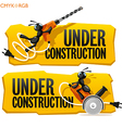 Ants Under Construction vector image vector image