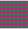 Houndstooth seamless pattern or tile background vector image