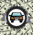 vehicular trade vector image