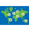 Geography poster vector image