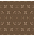 seamless pattern on a brown background vector image vector image