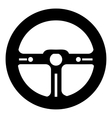 Racing rudder icon simple style