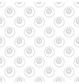 Eightball pattern seamless vector image