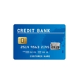 credit card icon image vector image