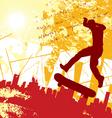 urban skater vector image vector image