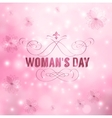Womans Day vector image vector image