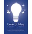 Lure of Idea vector image