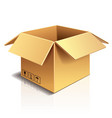 object cardboard box vector image