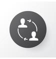 partnership icon symbol premium quality isolated vector image