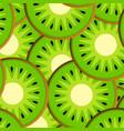slices of kiwi vector image