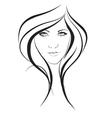 fashion drawing vector image vector image