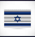 Israel siding produce company icon vector image