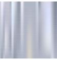 Polished metal background vector image