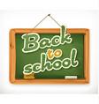 Back to school Schoolboard icon vector image