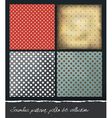 polka dots backgrounds collection eps10 vector image