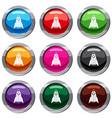 rocket set 9 collection vector image