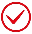 Ok icon from Business Bicolor Set vector image