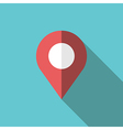 GPS location map pointer vector image