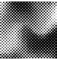 Black Halftone Background vector image