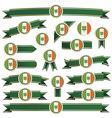 ireland ribbons vector image