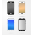smartphone and mobile collection vector image