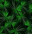 Tropical cabbage palm in a seamless pattern vector image