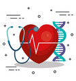medical science design vector image