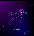 aries vector image