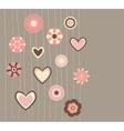 Cute flowers3 vector image